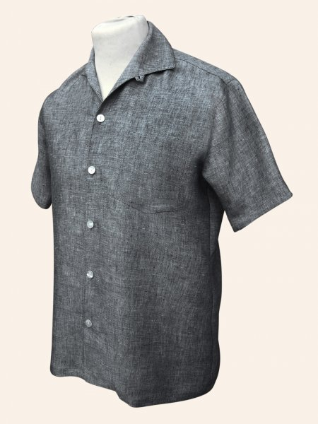Men 39 S Short Sleeved Chambray Shirt From Vivien Of Holloway