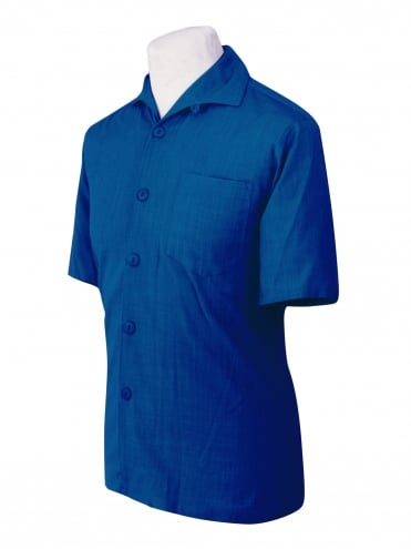 Men's Short-Sleeved Royal Shirt