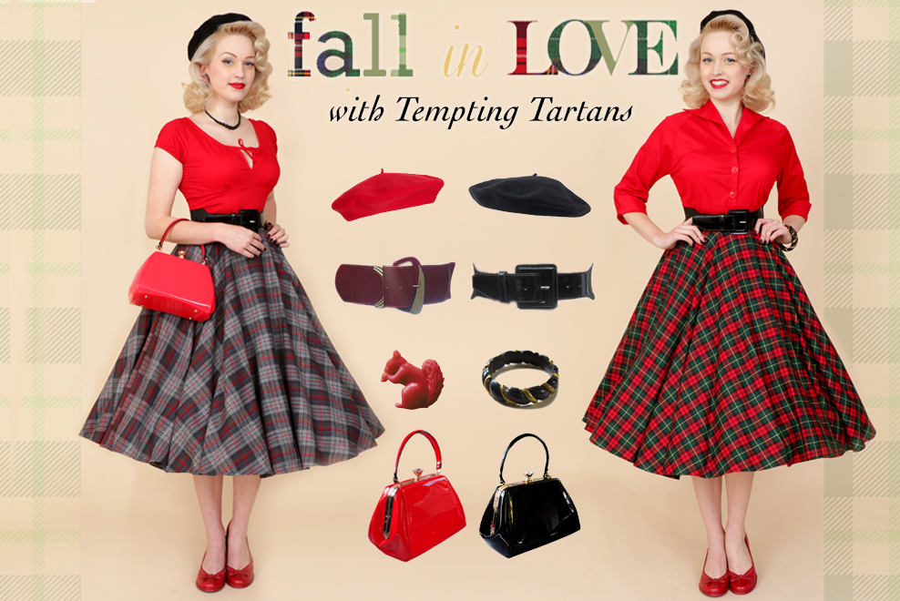 Fall in Love with Tempting Tartans