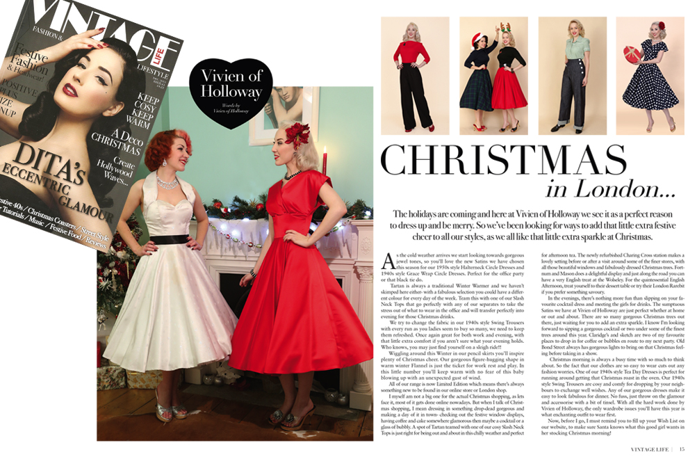 Vivien of Holloway in Vintage Life Magazine