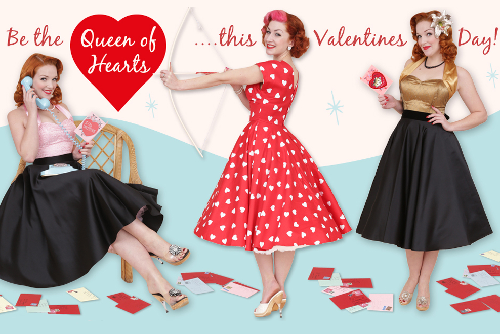 Be the Queen of Hearts this Valentines Day