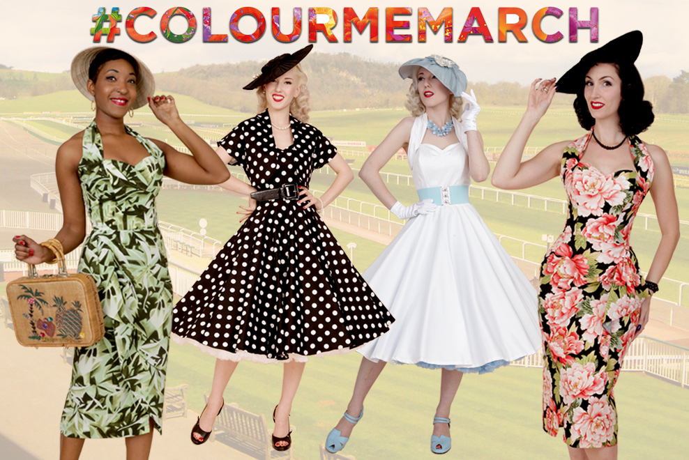 Colour me March