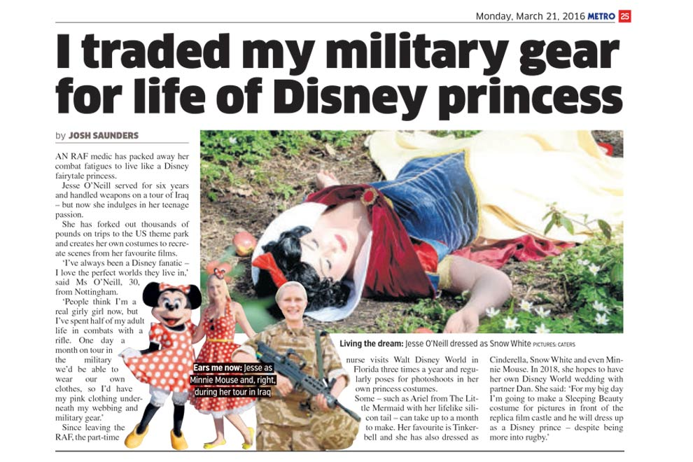 Be a Disney Princess in Vivien of Holloway