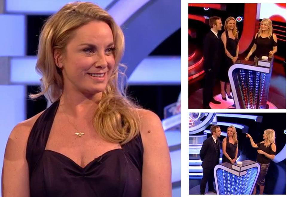 The National Lottery Live with Tamzin Outhwaite in Vivien of Holloway