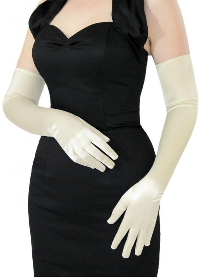 Opera Gloves Ivory