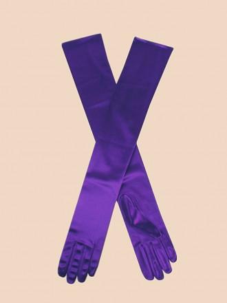 Opera Gloves Violet