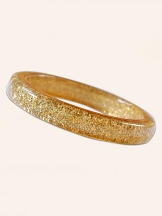 Pale Gold Glitter Bangle