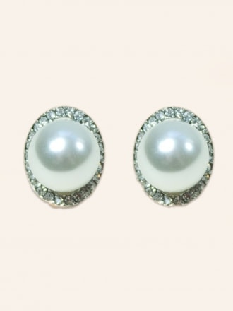 Pearl Orb Earrings