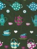 Peggy Lee Dress Teapot Green