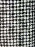 Pencil Skirt Black Gingham