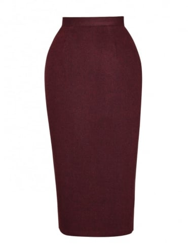 Pencil Skirt Cherry
