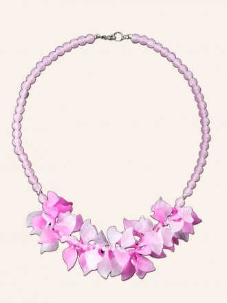 Peony Petal Necklace