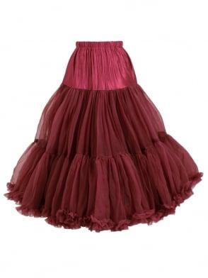Petticoat Burgundy