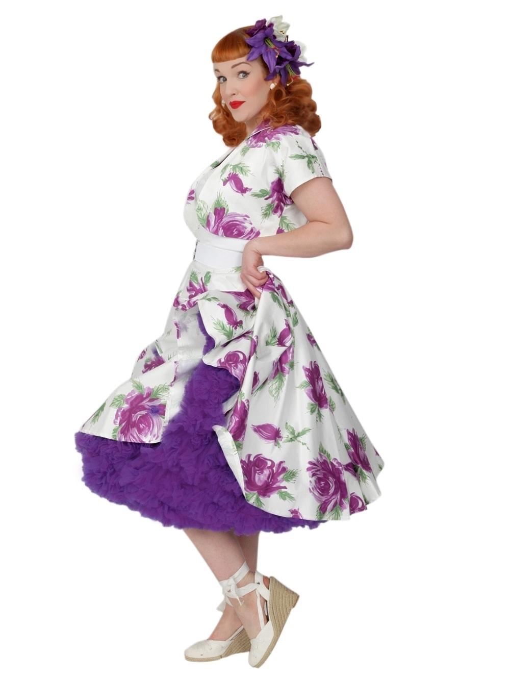 petticoat purple from vivien of holloway. Black Bedroom Furniture Sets. Home Design Ideas