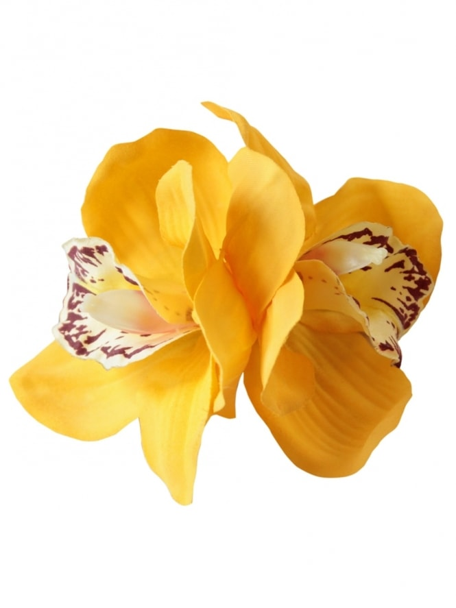 Pin-Up Double Orchid Yellow