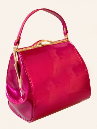 Pin-Up Girl Handbag Fabulous Fuchsia