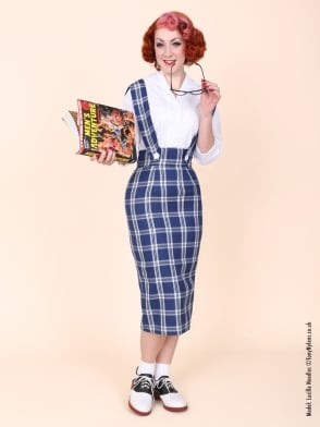 Pinafore Skirt Royal Tartan