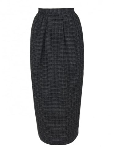 50s-1950s-Vivien-of-Holloway-Best-Vintage-Style-Reproduction-Pocket-Pencil-Check-Black-Skirt-Rockabilly-Swing-Pinup