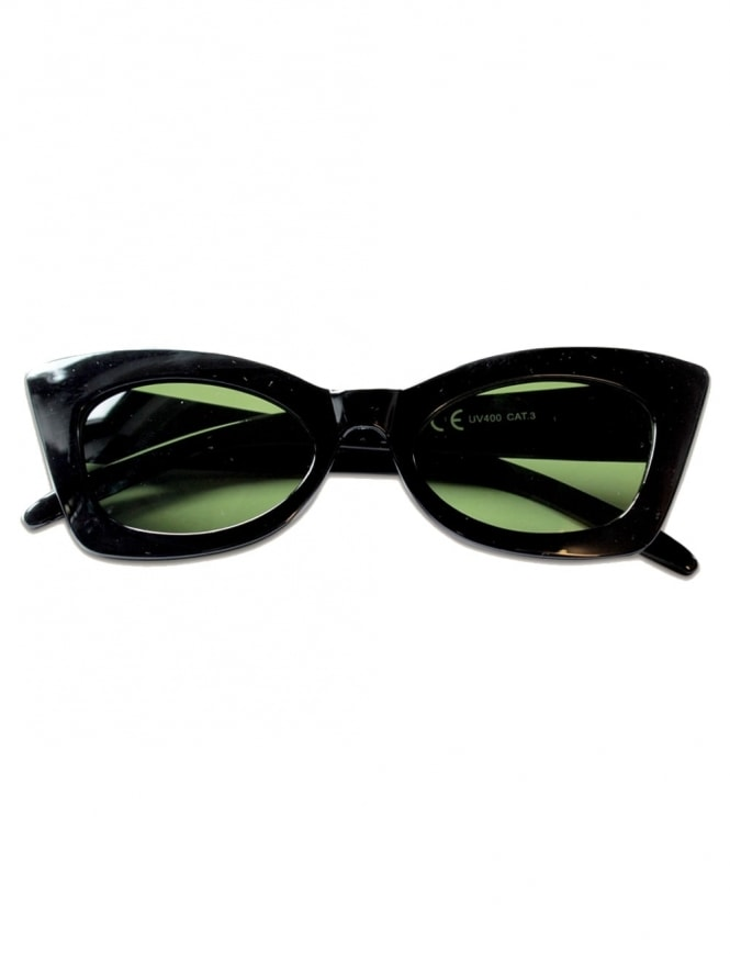 Poison Ivy Sunglasses Green Lens