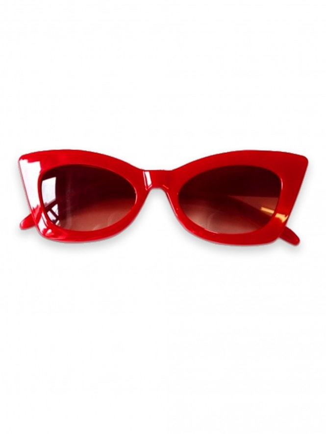 Poison Ivy Sunglasses Red