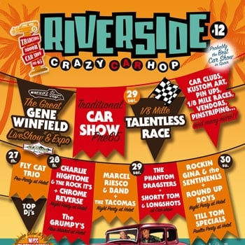 Win a Pair of Tickets for Riverside n12