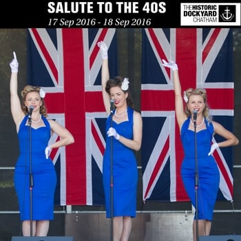 Win a Pair of Tickets for Salute to the '40s