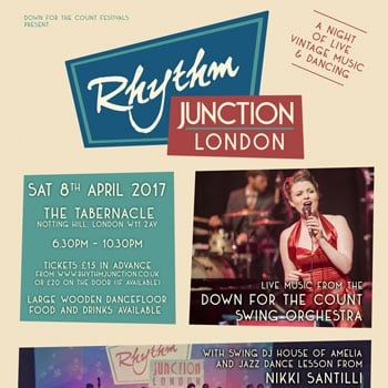 Win 2 tickets to Rhythm Junction London