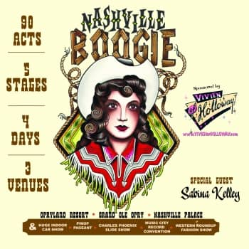 Win two tickets to Nashville Boogie