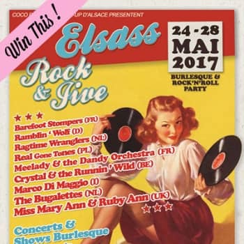 Win two tickets to Elsass Rock & Jive