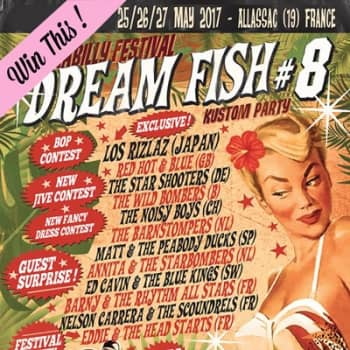 Win two tickets to the Dream Fish Kustom Party