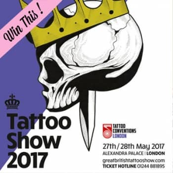 Win two tickets to the Great British Tattoo Show