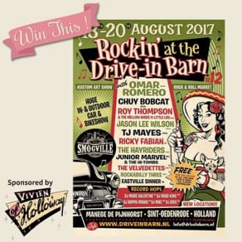 Win two tickets to Rockin' at the Drive-In Barn