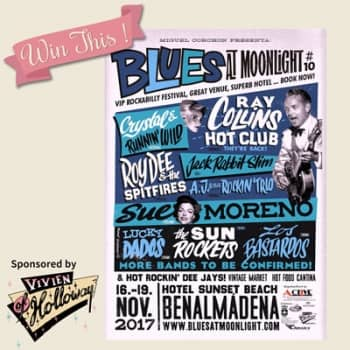 Win a pair ticket for Blues at Moonlight 2017