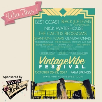 Win 2 tickets to the VintageVibe Festival