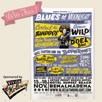 Win a pair of tickets to Blues at Moonlight