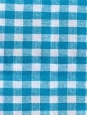 Rio Top Turquoise Gingham