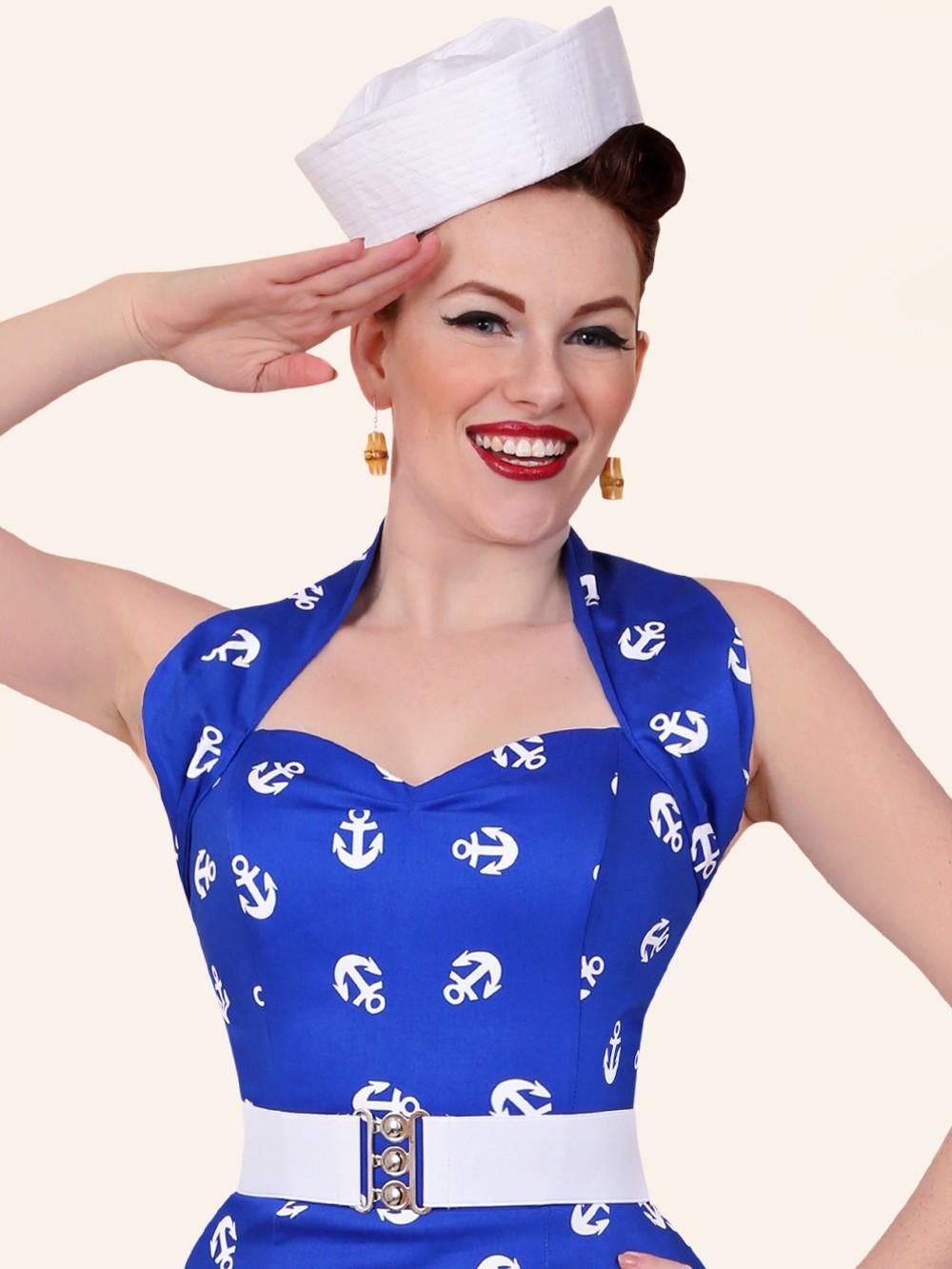 sailor hat from vivien of holloway