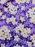 Sarong Frangipani Purple Set