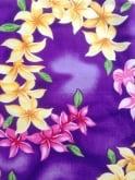 Sarong Garland Purple Bolero Set