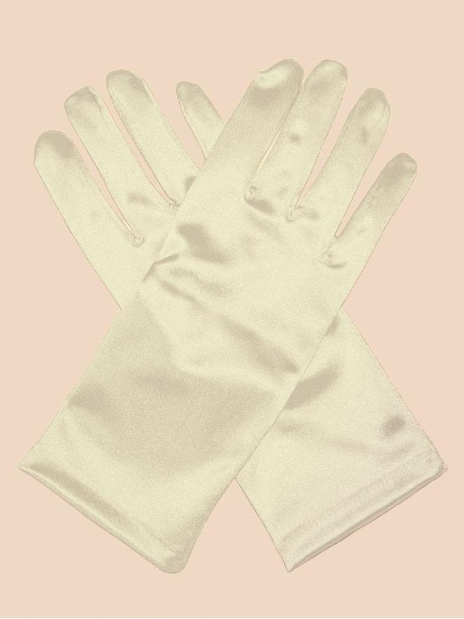 Short Gloves Ivory