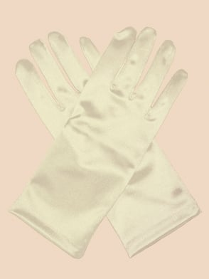 Short Gloves Ivory