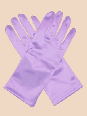 Short Gloves Lilac