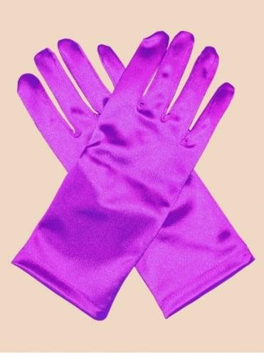 Short Gloves Magenta