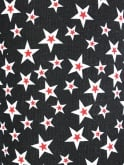 Shorts Black Red Stars