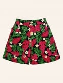 Shorts Red Palm