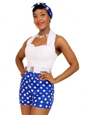 Shorts Royal Polka
