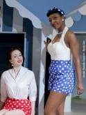 Shorts Royal Polka