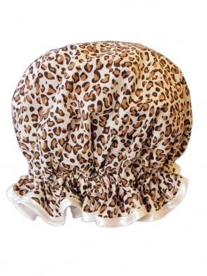 Shower Cap Leopard