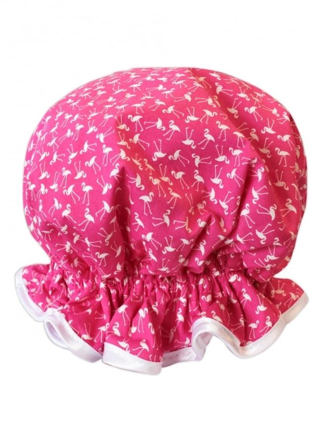 Shower Cap Pink Flamingo