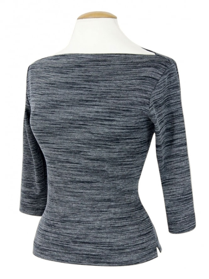 50s-1950s-Vivien-of-Holloway-Best-Vintage-Style-Reproduction-Repro-Slash-Neck-Top-Stone-Dark-Grey-Rockabilly-Swing-Pinup